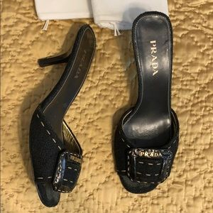 Prada shoes. great condition. With box, bags etc